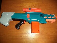 Nerf Zombie strike longshot CS-12 dart gun - Good