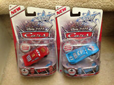 Disney Pixar Cars Stunt Racers series - Lightning McQueen & The King