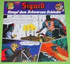 """SIGURD - KAMPF DEM SCHWARZEN SCHINDER / HANSRUDI WÄSCHER / HÖRSPIEL LP 12"""" / TOP"""