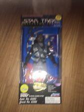 "Lt. Commander Worf 9"" Starfleet Edition Star Trek Collector Series 1995 NIB"