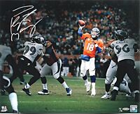 "PEYTON MANNING (Denver Broncos) ""Throw"" Autographed 8x10 REPRINT-FREE Shipping"