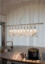 Swarosky Crystal and steel Chandelier Cellula Anthologie quartett 9 lamps