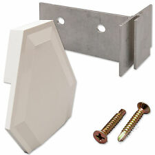 End Cap Replacement Kit for Slipped Polycarbonate or Glass Sheet / Roof Panel