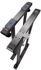 T5/T6 Multivan Multiflexboard Konsolen + L-Scharnier + Profilschienen, EDELSTAHL