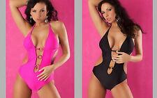 Angebot - 30% Badeanzug Trikini sexy verziert mit Schmuckstück rund