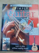 More details for simply guitar book and dvd learn to play without reading music **lower price**