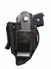 Belt & Clip Gun holster With Magazine Pouch For Jimenez Arms JA-380