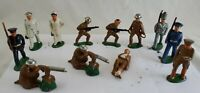Manoil Barclay Toy Soldier (12) Lead Army Marine Military Figures