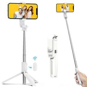 Bluetooth Selfie Stick Stativ, Handy & Kamera Stativ für iPhone, Samsung, GoPro