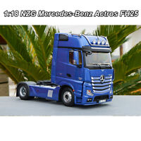 1:18 NZG Mercedes-Benz Actros FH25 Truck Trailer Diecast Model Car +Free Gift