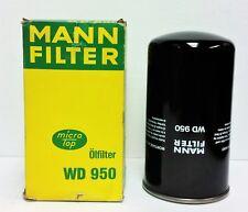 MANN WD950 Hydraulic Filter for Claas, Fendt, John Deere, Liebherr