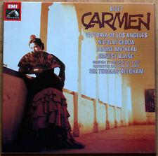 BIZET • CARMEN • BEECHAM • LOS ANGELES • 3 LP BOX • EX+/EX+ • EMI 1106803