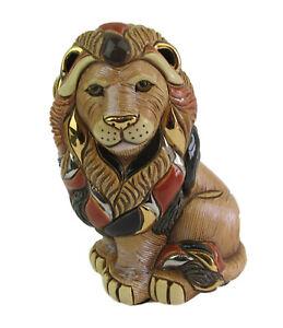 Rinconada De Rosa - Lion Sitting Figurine R1008 - Year 2006