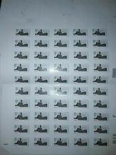 1 foglio da  50 FRANCOBOLLI Nuovi in EURO  zona b3 grammi 50  valore 240 euro