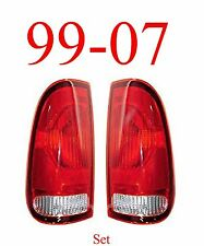 99 07 Super Duty, 97 03 F150, Tail Light Set, Assembly, Ford, Left & Right Sides