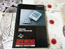 Notice - Handleiding Console Super Nintendo HOL-4
