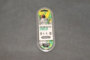 Skullcandy Ink'd In-Ear Only Headphones with Microphone & Remote - Rasta