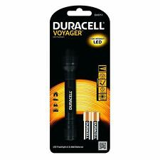 Duracell Voyager LED Flashlight High Intensity LED Torch & 2x AAA Batteries