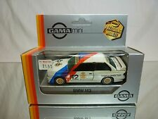 GAMA 1153 BMW M3  - E30 - WARSTEINER WHITE 1:43 - GOOD CONDITION IN BOX