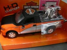 1/27 Maisto Ford F150 Pick up mit 1/24 Maisto Harley Davidson Fat Boy ´00 32187