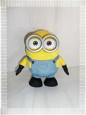 T - Peluche Minion Bob en Salopette en Jean   22 cm