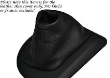 Negro Stitch Cuero Auto Automático Gear Polaina Para Bmw Serie 5 E60 E61 03-07