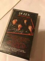 Queen Greatest Hits 1981 Cassette Tape Elektra 5C5-564
