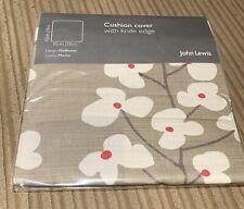 John Lewis - Cushion Cover - Wallflower MOCHA - 45 X45 CM - New X4 Pack
