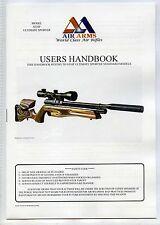 Air s510f Ultimate Arms Sporter fucile, modelli standard manuale degli utenti