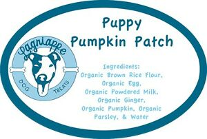 Lagniappe Dog Treats' Organic, Homemade, Puppy Pumpkin Patch Treats