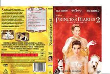 Princess Diaries:2-2004-Julie Andrews- Movie-DVD