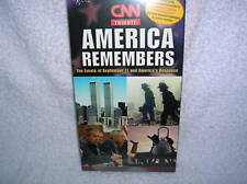 AMERICA REMEMBERS ( 9-11 ) WORLD TRADE CENTER (VHS)