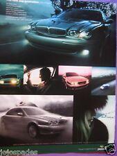 """2002 Jaguar Original Print Ad-The New Jag Generation The X Type 2.5L-8.5 x 10.5"""""""