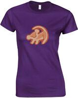 Simba Print, The Lion King inspired Ladies Printed T-Shirt