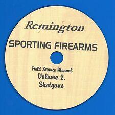 Remington Sporting Firearms Field Service Manual, Volume 2, Shotguns CD-ROM