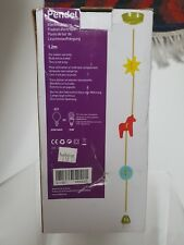 Habitat Pendel light fitting fabric cord kids children room nursery 1.2m
