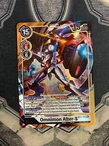 Omnimon Alter-S Digimon TCG BT3-112 SEC Alt Art