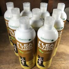 9 Bottles of Nature'S Best Flea and Tick Dog Shampoo, Itch relief 16 oz New