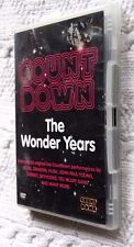 COUNT DOWN: THE WONDER YEARS (DVD, 2-DISC) R-ALL, VERY GOOD, FREE POST AUS-WIDE