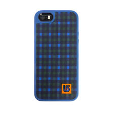Speck Fabshell Burton Case iPhone SE 5S 5 Ballpoint Red Plaid Harbor Blue