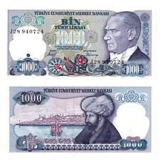 Türkei / Turkey 1000 Lira 1986 Pick 196 Unc. / 619578##
