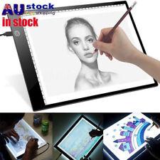 Ultra Thin A4 LED Art Stencil Board Light Tracing Drawing Pad 3 Brightness Level