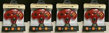 4 LOT ( FOUR ) NEW Red Retro Tomee Controller Joystick pads for N64 NINTENDO 64