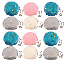 6 Purses Girls Party Bag Fillers Childrens Stocking Pocket Money Toy Prize