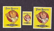 Ancienne   étiquette allumettes Belgique  BN18797 Petit beurre Enfant