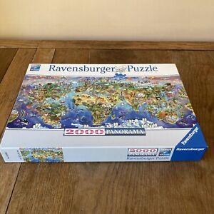 Ravensburger World Wonders Panorama 166985 Jigsaw Puzzle 2000 Piece Complete Vgc