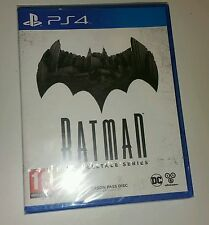 Batman: The Telltale Series Tell Tale PS4 New Sealed UK PAL Sony PlayStation 4