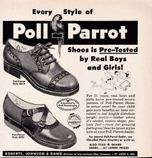 1950 Vintage Poll Parrot Shoes print ad Pre-Tested by Real Boys and Girls!