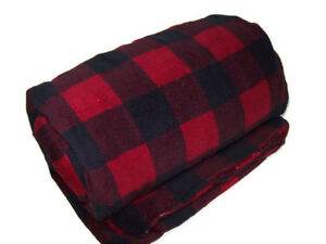 Biddeford Heated Electric Warming Micro Plush Buffalo Check Plaid Throw Blanket