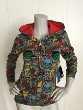 Tokidoki X Marvel Women's Chit Chat  Fleece Hoodie Size S